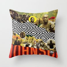 BRING THE PAIN: JACK JOHNSON Throw Pillow