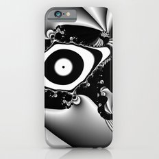 Black and White Fractal 14 iPhone 6 Slim Case
