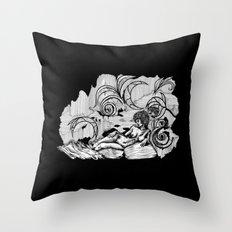 Psichodelia Throw Pillow