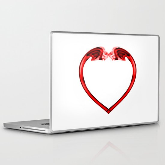 Love Smoke Red 2 Laptop & iPad Skin