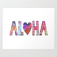 ALOHA - Style A Art Print