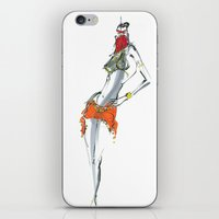 Dance for me iPhone & iPod Skin