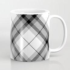 Black and White plaid Mug