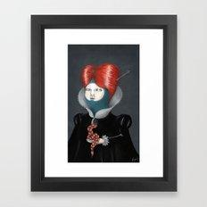 Encarnación: María Framed Art Print