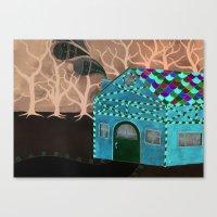 Hansel & Gretel Adrift Canvas Print
