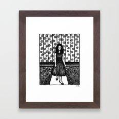 minefield Framed Art Print