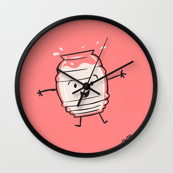 Horchata Wall Clock
