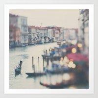Winter In Venice ...  Art Print