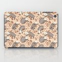 Opossum and Roses iPad Case