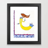 Invisible and free Framed Art Print