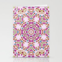 Love and Kisses Mandala Stationery Cards