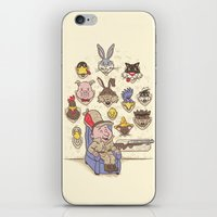 Wevenge! iPhone & iPod Skin