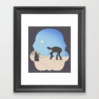 Darth Pet-Pet Framed Art Print