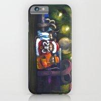 Merry Christmas World iPhone 6 Slim Case