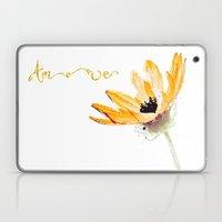 Flower Amore Laptop & iPad Skin