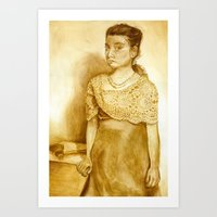 Lizzie Borden  Art Print