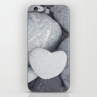Heart Shaped Rock iPhone & iPod Skin