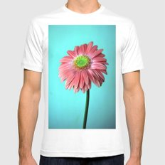 Spring vibes Mens Fitted Tee SMALL White