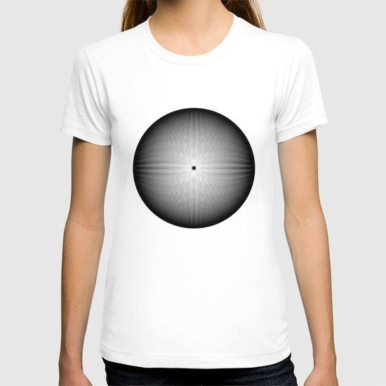 Fractal Snowball T-shirt