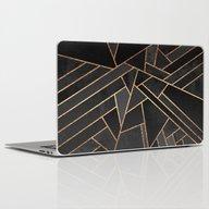 Black Night Laptop & iPad Skin