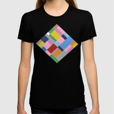 Map 45 Womens Fitted Tee Black SMALL