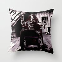 Benjamin Barker Throw Pillow