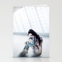 Cold Light of Day Stationery Cards