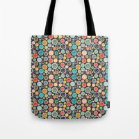 Happy Shiny Droplets Tote Bag