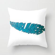shablamers Throw Pillow