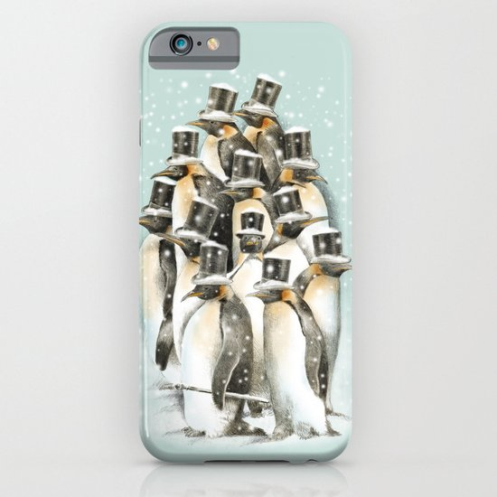 A Gathering in the Snow iPhone & iPod Case