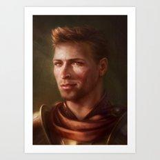 King Alistair Art Print