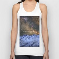 Never Stop Exploring Mou… Unisex Tank Top