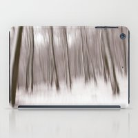 First Snow In The Forest iPad Case