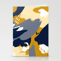 Eve; Abstract Art. Stationery Cards