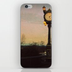 Clock tower iPhone & iPod Skin