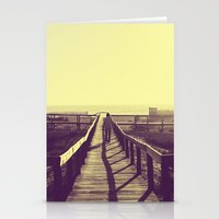 Man walking Stationery Cards