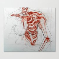 Ribcage Canvas Print