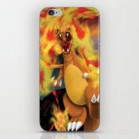 Fire Blast! iPhone & iPod Skin