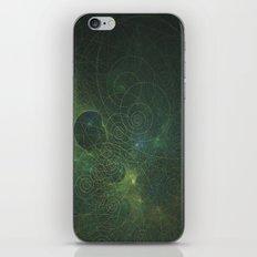 Green Fractal iPhone & iPod Skin