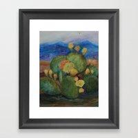 Tucson Cactus MM151207f-… Framed Art Print