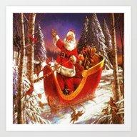 Santa Claus, Santa Claus… Art Print