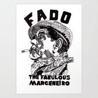 Fado Marceneiro Art Print