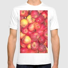 Apples  Mens Fitted Tee White SMALL