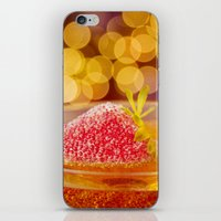 Strawberries And Champag… iPhone & iPod Skin