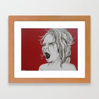 I Do What I Want Framed Art Print