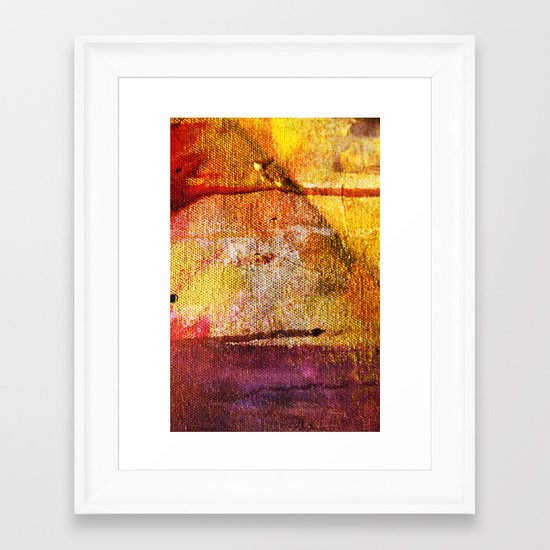 Refined by Fire Framed Art Print