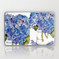 Hydrangea Painting Laptop & iPad Skin