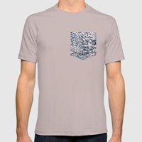 Blossom Mens Fitted Tee Cinder SMALL