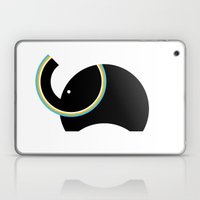 Retro Elephant Laptop & iPad Skin