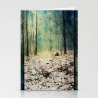 Snow To Blue Stationery Cards